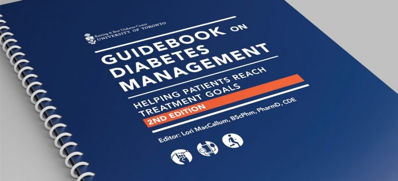 Guidebook on Diabetes Management book cover
