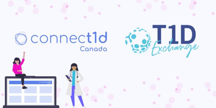 Connect1d-T1DExchange Logos